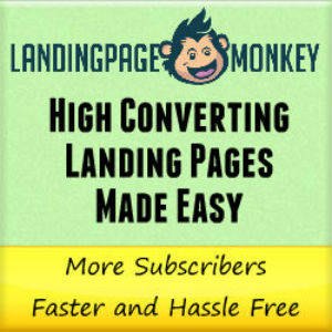 Create stunning high-converting landing pages with Landing Page Monkey